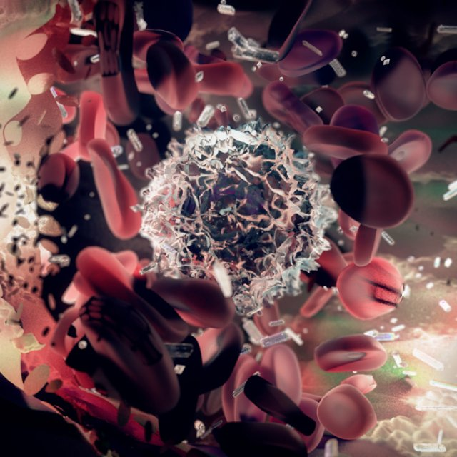 Powers Project, Lymphocytes.  Credit:  http://www.prodigiarts.com