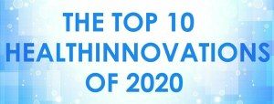 Banner artwork for top 10 healthinnovations of 2020 article